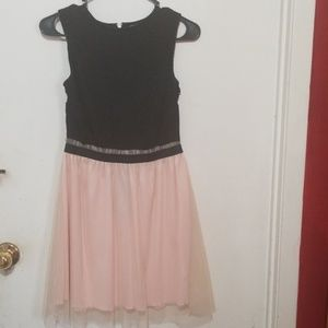 Dresses & Skirts - Black and Pink Tulle Dress